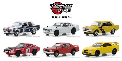 Set 1:64 Tokyo Torque Series 4