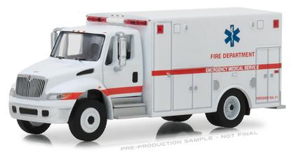 Fire Dept. Emergency Medical Services ALS Unit - 2013 International Durastar Ambulance
