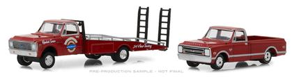 24 Hr. Towing - 1971 Chevy C-30 Ramp Truck with 1968 Chevy C-10