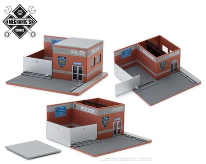 New York City Police Department (NYPD) - Hot Pursuit Central Command Diorama