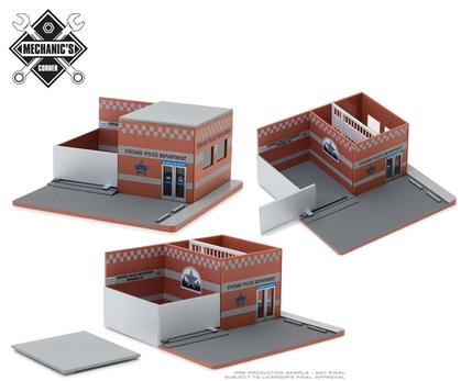 City of Chicago Police - Hot Pursuit Central Command Diorama
