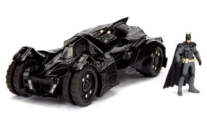 Arkham Knight Batmobile with Diecast Batman Figure