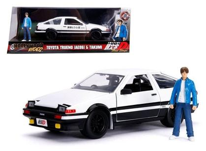 Initial D: First Stage 1986 Toyota Trueno & Takumi Figure