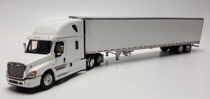 Freightliner Cascadia Evolution High Roof Truck with 53' Refrigerated Trailer