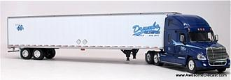 Freightliner Cascadia High Roof with Dry Goods Trailer