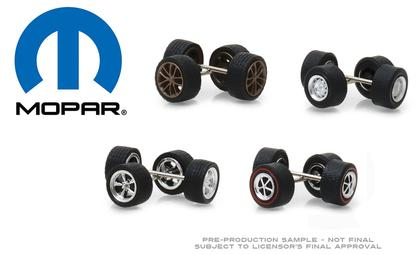 MOPAR Wheel & Tire Pack - 16 Wheels, 16 Tires, and 8 Axles