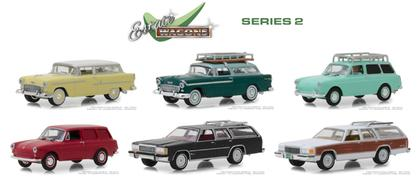 1/64 Estate Wagons Series 2 Set