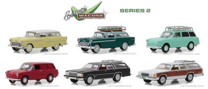 1/64 Estate Wagons Series 2 Set