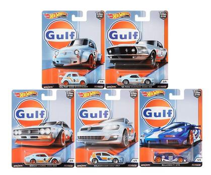 Hot Wheels 1:64 Gulf Set