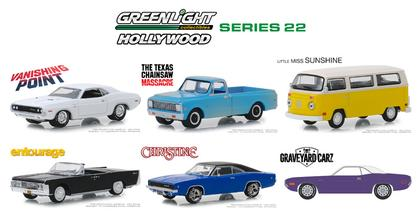 Hollywood Series 22 1:64 Set