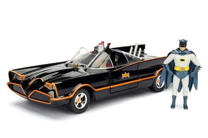 Batmobile Tv Series with Batman & Robin Figure Model-Kit Build n Collect Hollywood rides