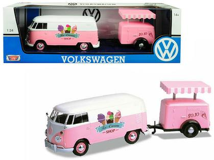 VOLKSWAGEN T1 DELIVERY VAN WITH ICE-CREAM TRAILER