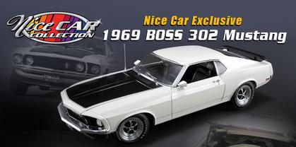 Ford Mustang Boss 302 1969 Nice Car Collection Series (MARCH 2019)