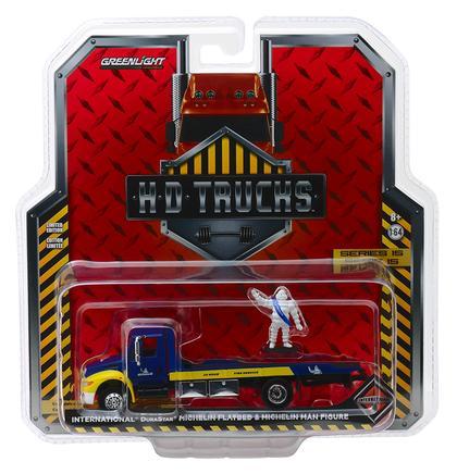 2013 International Durastar Flatbed Truck with Michelin Man Figure Michelin Service Center Heavy Duty Trucks Series 15
