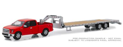 2017 Ford F-150 with Gooseneck Trailer Hitch and Tow Series Hobby Exclusive