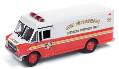 GMC 1990 Step Van Delivery Truck Fire Department Support Unit