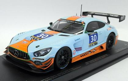 Mercedes-Benz AMG GT3 Gulf Ram Racing #30 2016 2nd 24hr Paul Ricard