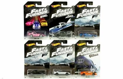 Hot Wheels 1:64 Basic Fast & Furious A Assortment 6 Style Diecast