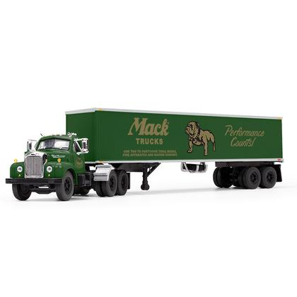 Mack B-61 Day-Cab with 40' Vintage Trailer