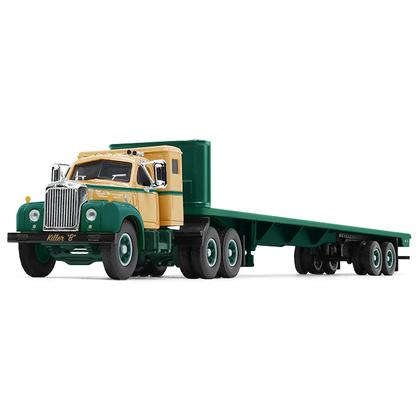 Mack B-61 Sleeper Cab with 48' Flatbed Trailer Killer B