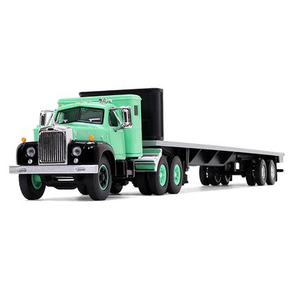 Mack B-61 Sleeper Cab with 48' Flatbed Trailer