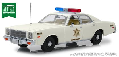 Plymouth Fury 1977 Hazzard County Sheriff (End of April)