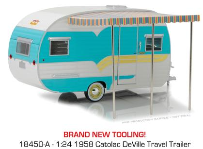 1958 Catolac DeVille Travel Trailer