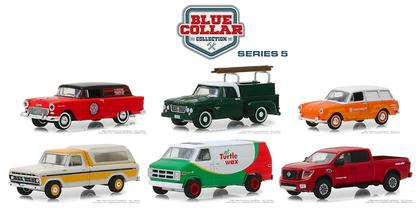 Blue Collar Collection Series 5 Set 1:64