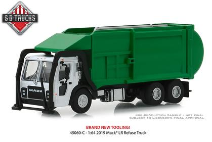 2019 Mack LR Front Load Refuse Truck Super Duty Trucks Series 6