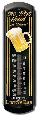 Thermometer - Moore - Lucky's Bar