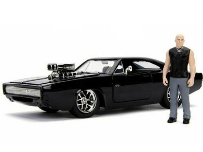 Dodge Charger R/T 1970 with Dom Figure Fast and Furious