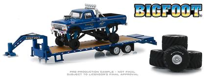 Bigfoot #1 The Original Monster Truck 1974 Ford F-250 on Gooseneck Trailer