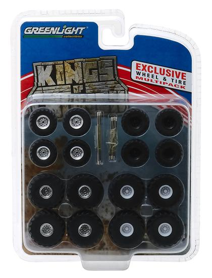 Kings of Crunch Wheel & Tire Pack - 16 Wheels, 16 Tires, and 8 Axles