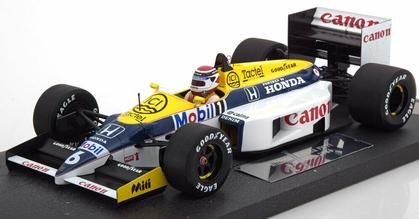 Canon Williams Honda FW11 - F1 GP 1986 - #6 Nelson Piquet