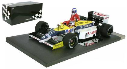 Williams Honda FW 11 Piquet / Rosberg Formule 1 Deutschland 1986
