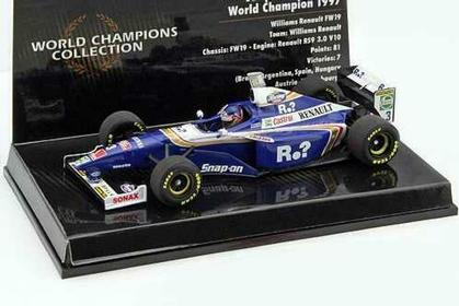 WILLIAMS FW19 Villeneuve World Champion 1997