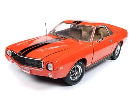 AMC AMX 1969 HEMMINGS COVER CAR (June)