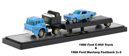 1966 Ford C-950 Truck and 1966 Ford Mustang Fastback 2+2