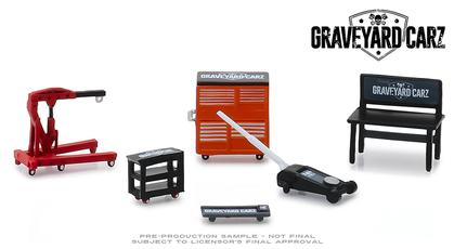 Graveyard Carz - Shop Tools Set