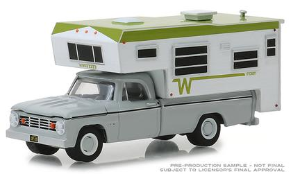 Dodge D-100 1966 with Winnebago Slide-In Camper