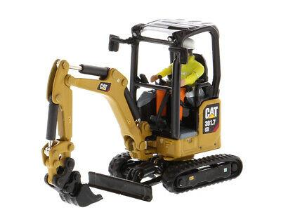 Caterpillar 301.7 CR Next Generation Mini Hydraulic Excavator with Work Tools