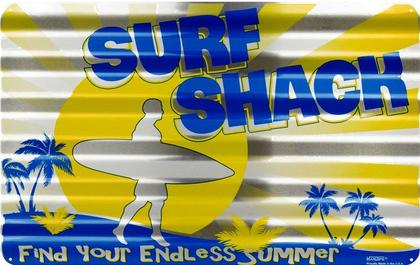 Surf Shack Corrugated Large Sign