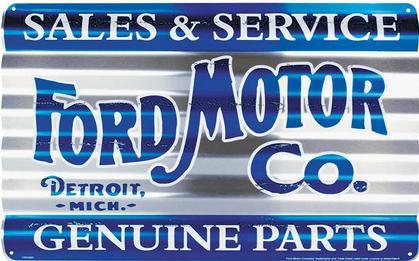 Ford Motors Corrugated Large Sign