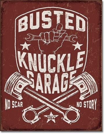 Busted Knuckle Garage Shield