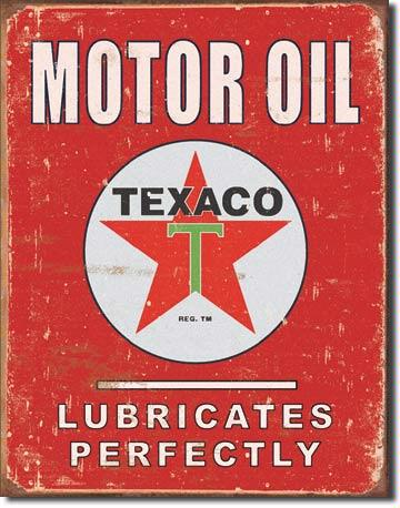 Texaco - Lubricates perfectly
