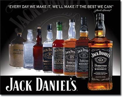 Jack Daniels - Bottles