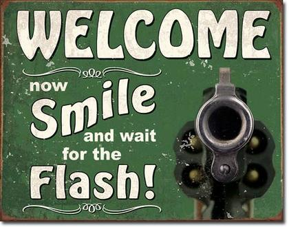 Welcome - Smile for the Flash
