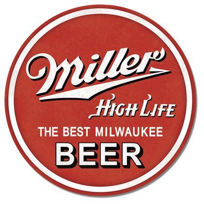 Miller High Life Round