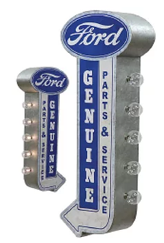OFF THE WALL SIGN Ford Service