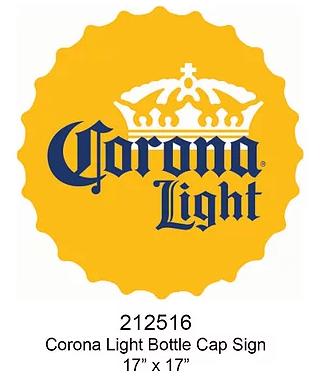 Coronal Light Bottle Cap 17
